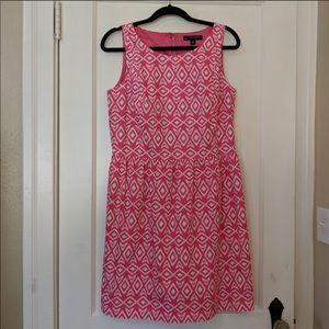 Brooks Brothers Pink & White Dress